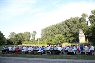 Betriebsfeier Dinner Kloster Graefenthal